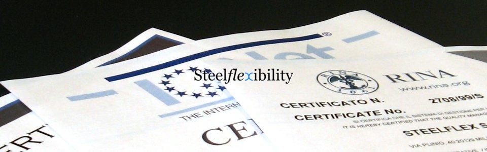 Certificazioni Expansion Joint